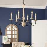 Helen 6-Light Candle Style Classic / Traditional Chandelier byBirch Lane™ Heritage