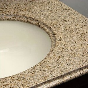 Doral Single Bathroom Vanity Top
