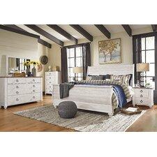 Noelie Sleigh Customizable Bedroom Set by Lark Manor