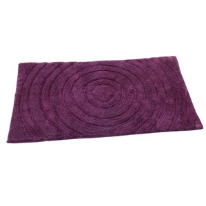 Castle Castle Hill 100% Cotton Echo Spray Latex Back Bath Rug