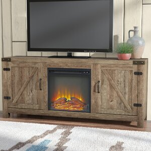 Anken 58 TV Stand with Optional Fireplace by Loon Peak