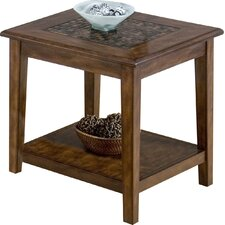 Marcel End Table by World Menagerie