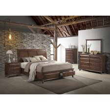 Lehigh Storage Panel 5 Piece Solid Wood Bedroom Set by Darby Home Co