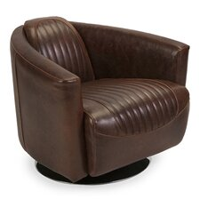 Gracinha Leather Retro Tub Club Chair by 17 Stories