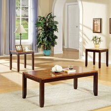 Frazer 3 Piece Coffee Table Set by Loon Peak