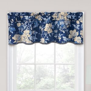Cary Floral Curtain Valance