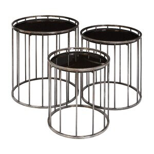 Gianna 3 Piece Nesting Tables by Williston Forge