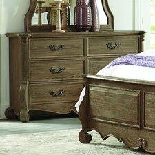 Chrysanthe 6 Drawer Double Dresser by Homelegance