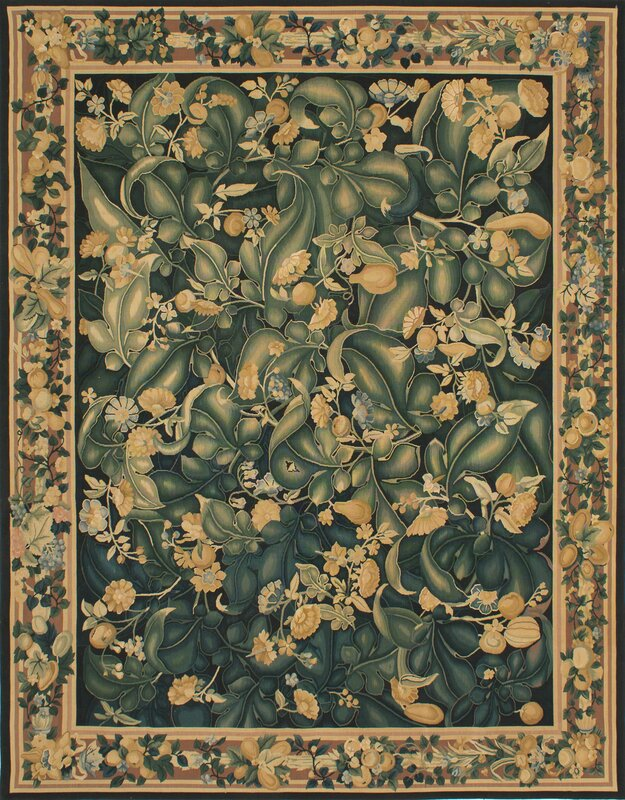 Black And Green Area Rugs fleur de lis living berrywood flat-woven black/dark green area rug