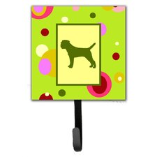 Border Terrier Leash Holder and Wall Hook by Caroline's Treasures