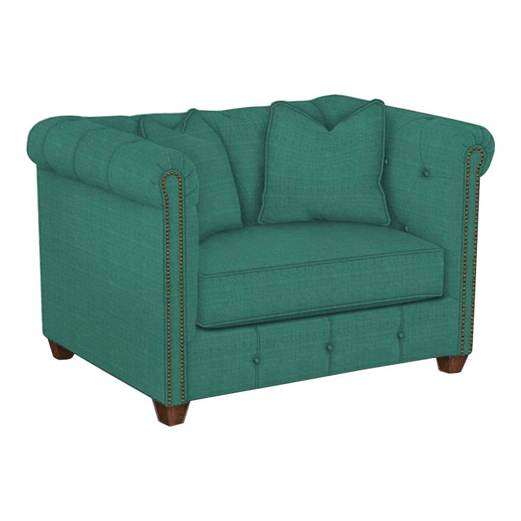 Mid Modern Chair And Half: Wayfair Custom Upholstery Harrison Mid Century Accent