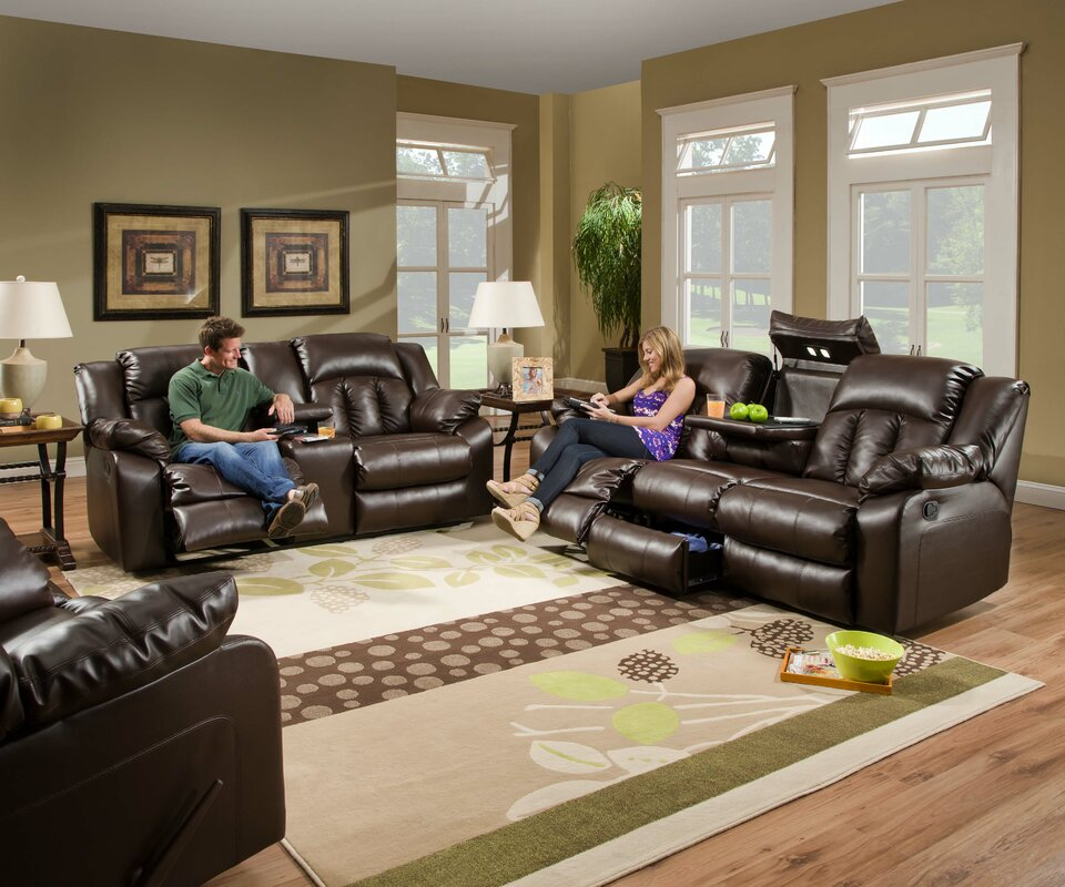Faux Leather Living Room Sets Youll Love Wayfair