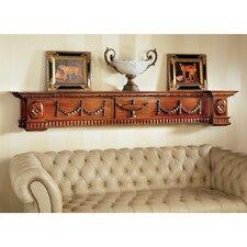 The Dunbridge Soupiere Mantel Pediment by Design Toscano
