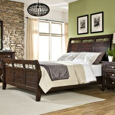 Haven Sleigh Bed by Imagio Home by Intercon