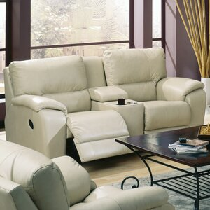 Shields Leather Reclining Sofa by Palliser Furniture