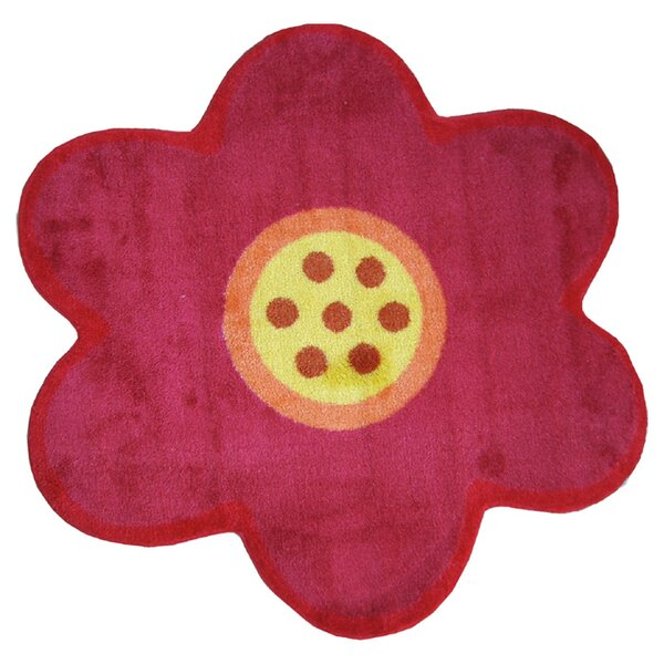 Fun Rugs Fun Shape Medium Pile Flower Area Rug U0026 Reviews | Wayfair