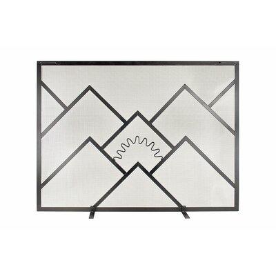 Single Panel Plasma Glass Fireplace Screen Reviews AllModern