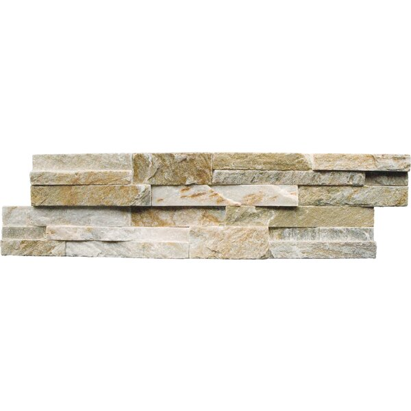 Msi 6 Quot X 24 Quot Natural Stone Splitface Tile In Golden Honey