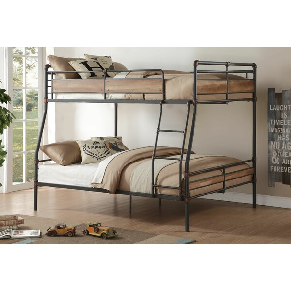 acme furniture brantley ii full xl over queen bunk bed & reviews
