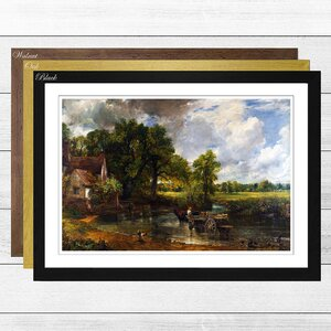 'The Hay Wain' by John Constable Framed Painting Print
