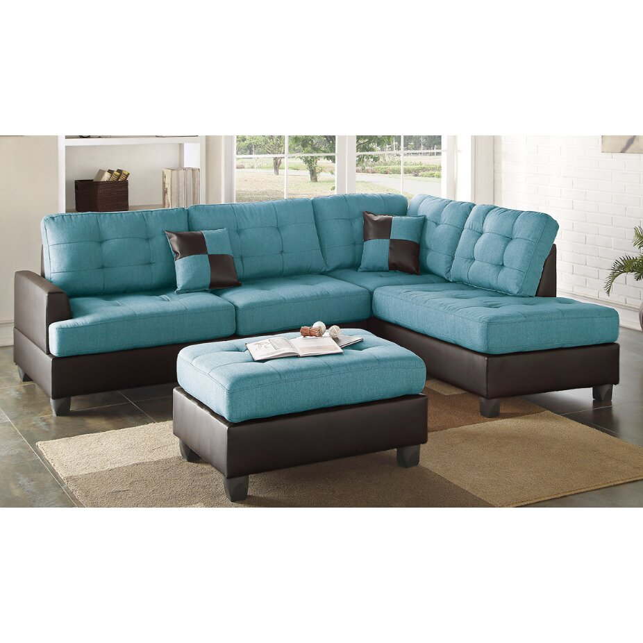 pleather sectional sofa  sc 1 th 225 : pleather sectional - Sectionals, Sofas & Couches