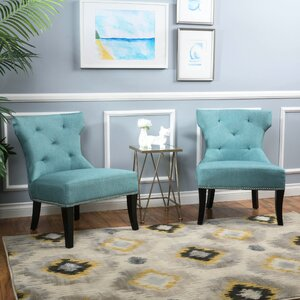 Harvey Slipper Chair by Home Loft Concepts
