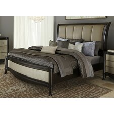 Sunset Boulevard Upholstered Platform Bed by House of Hampton