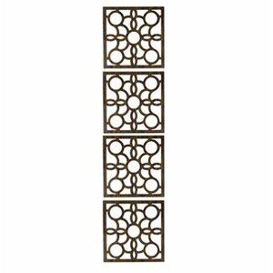 160.04cm x 40.01cm Siam 4 Panel Room Divider (Set of 4)