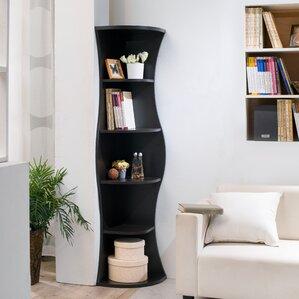 Corner Bookcases You\'ll Love | Wayfair