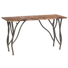 Woodland Console Table by Stone County Ironworks