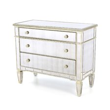 Roehl Mirrored 3 Drawer Hall Chest by Willa Arlo Interiors