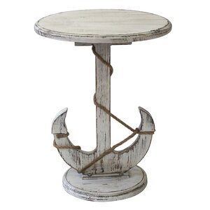 Harbor End Table by Crestview Collection