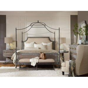 True Vintage Canopy Customizable Bedroom Set