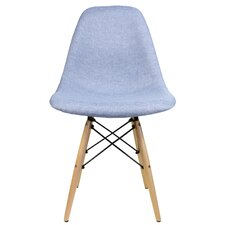 Denim Fabric Side Chair by eModern Decor