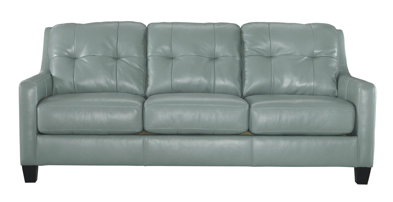 Modern brown leather sofa - Modern Brown Leather Sofa 23