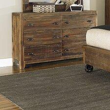 Gilman 6 Drawer Standard Dresser by Loon Peak