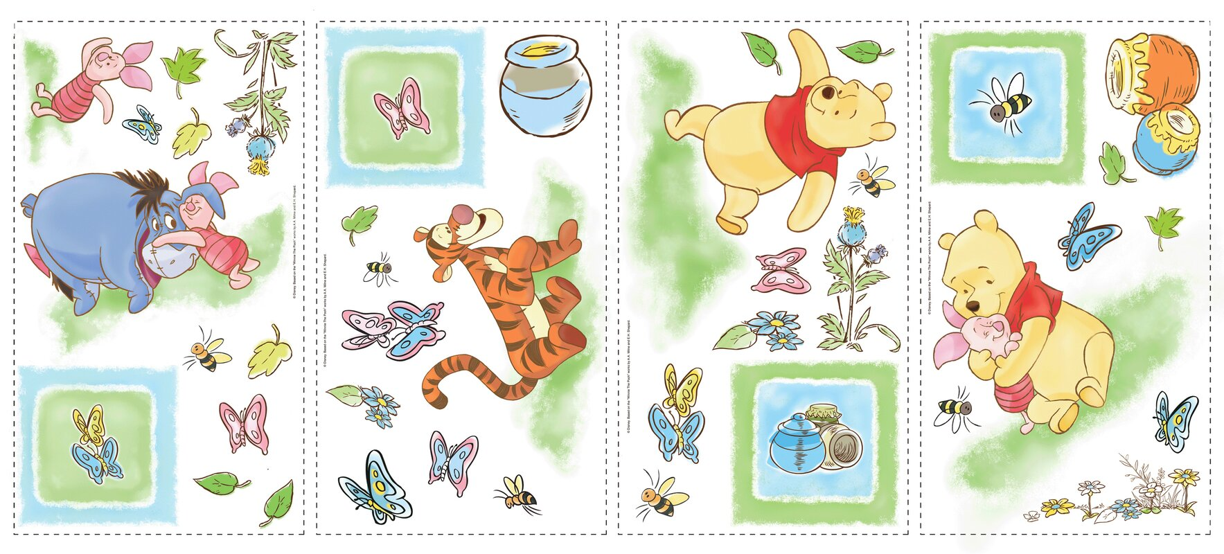 Winnie the pooh toddler bedding - Default_name