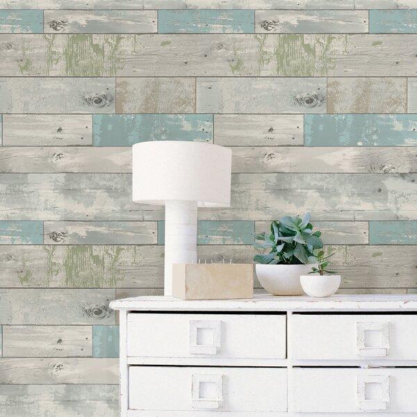 Wallpops Beachwood Peel And Stick Wallpaper Roll