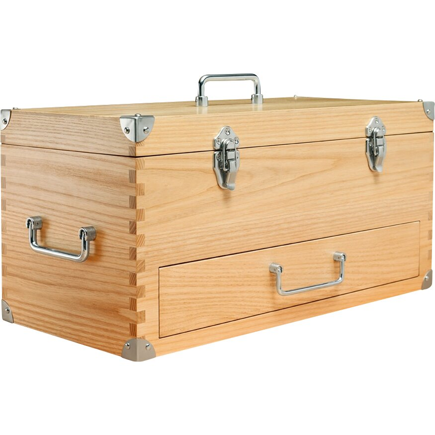 Wood Tool Chest ~ Lanza wooden toolbox reviews wayfair