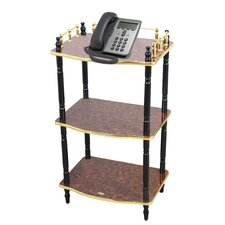Multi-Tiered Telephone Table by Uniquewise