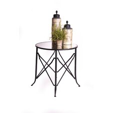 Haven 30 Mirrored End Table by RTA Home And Office