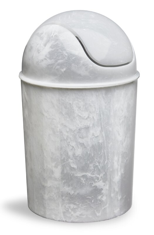 modern trash cans + wastebaskets   allmodern