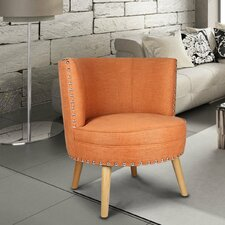 Round Leisure Barrel Chair by Adeco Trading