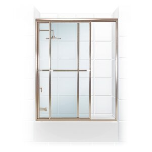 Paragon Series 54 x 70pass Shower Enclosure Coastal Shower Doors