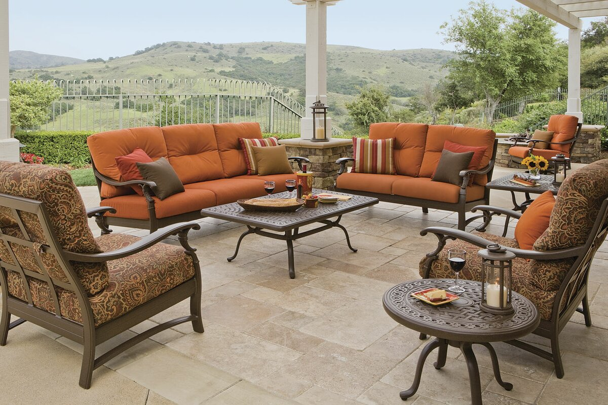 Marvelous Ravello Deep Seating Group With Cushion