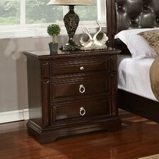 Caprivi 3 Drawer Nightstand by Williams Import Co.