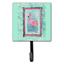 Flamingo Wall Hook by Caroline's Treasures