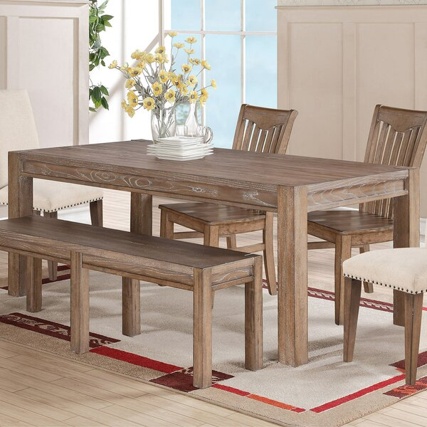 One Allium Way Plessis Extendable Dining Table Reviews Wayfair
