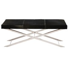 Artisan Leather Dining Bench by Fashion N You by Horizon Interseas