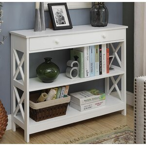 Cataleya 1 Drawer Console Table by Breakwater Bay
